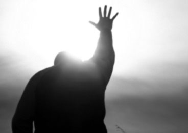 Know God - Hand Reaching to the sky